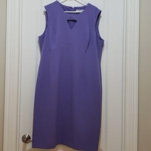 Kasper sheath dress Violet